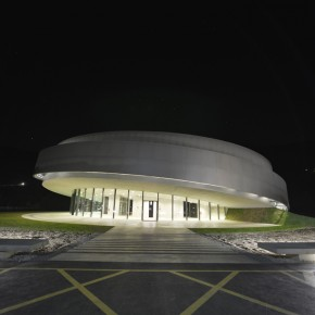 Cultural Centre of European Space Technologies (KSEVT), Vitanje, Slovenia, 2012
