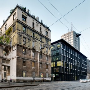 Refurbishment of La Serenissima Office Building, Milan, Italy