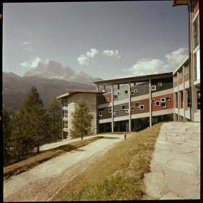 Edoardo Gellner (church in collaboration with Carlo Scarpa): Eni Village, Borca di Cadore, Italy (1954-66)