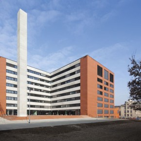 New Building of the Faculty of Architecture of the Czech Technical University in Prague
