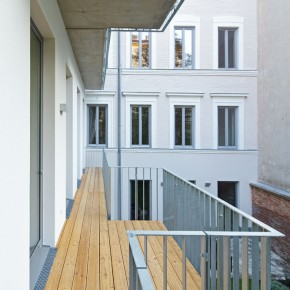 Residential and Office Building Neustiftgasse, Vienna, Austria