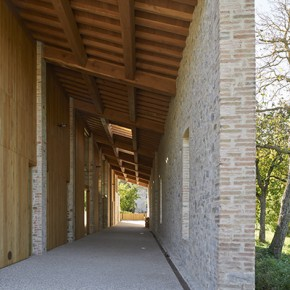 Studio Contini (Marco Contini): The Recovery of Farm Buildings for Residences in Chiastrone, Langhirano, Parma