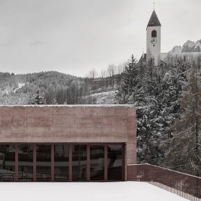 Pedevilla Architects: Fire Station Vierschach, Italy